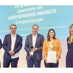 Juni 2018 – Auszeichnung beim Energiewende Award in der Kategorie Strom