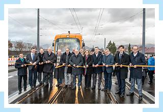 Dezember 2018 – Inbetriebnahme der Linie 22