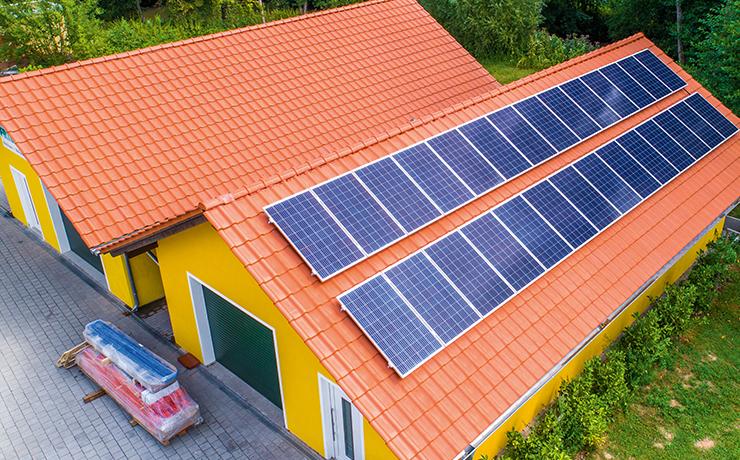 2018 entstand das 50ste ENERGIEDACH
