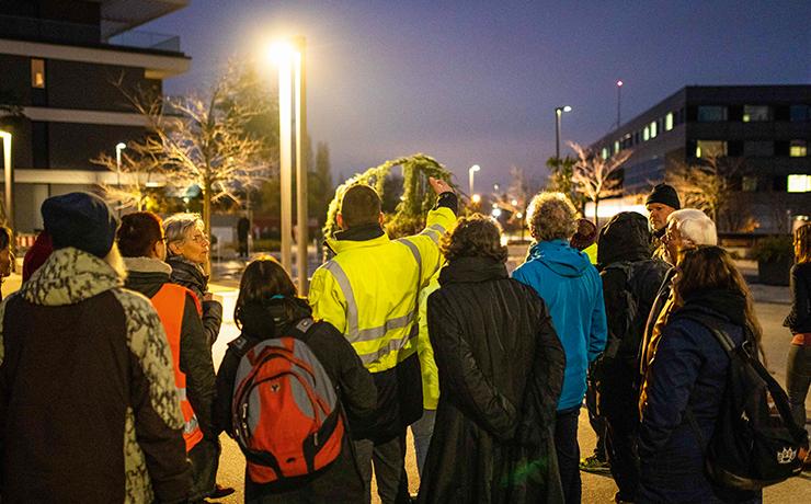 Führung im Zuge der Kampagne Licht ins Dunkel – die Nacht neu entdecken