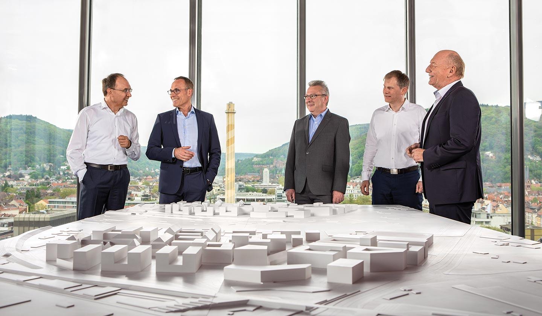 Michael Teigeler, Rudolf Irmscher, Peter Erb, Falk Günther, Michael Jäger (v.l.n.r.)