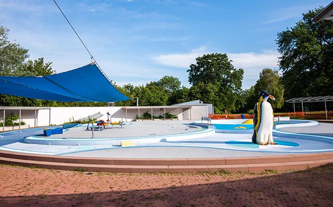 Tiergartenbad: Saisonstart mit einem rundum erneuerten Planschbecken für die Kleinsten