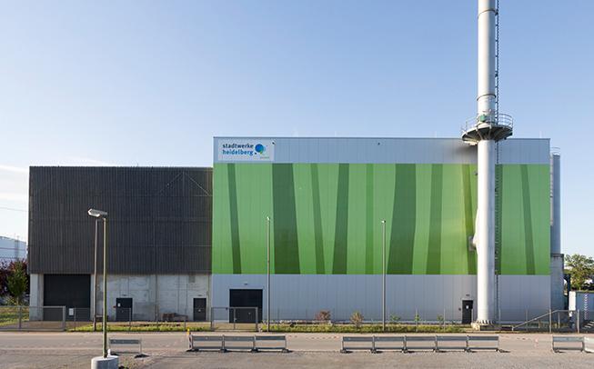 Das Holz-Heizkraftwerk – die erste Anlage zur Erzeugung von grüner Wärme im Zuge unserer Energiekonzeption 2020/2030