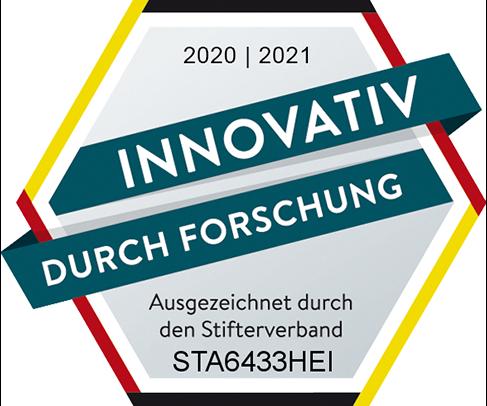 Innovativ durch Forschung 2020/2021