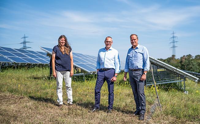 Vorstellung der Kooperation mit der Trianel Wind und Solar