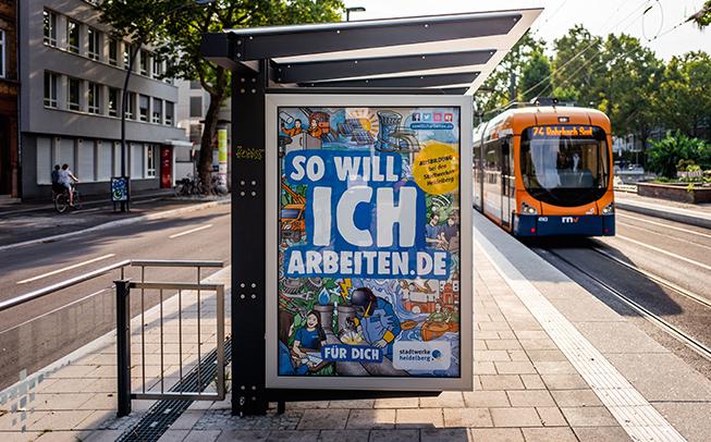 Launch der Arbeitgeberkamagne unter dem Slogan sowillicharbeiten.de