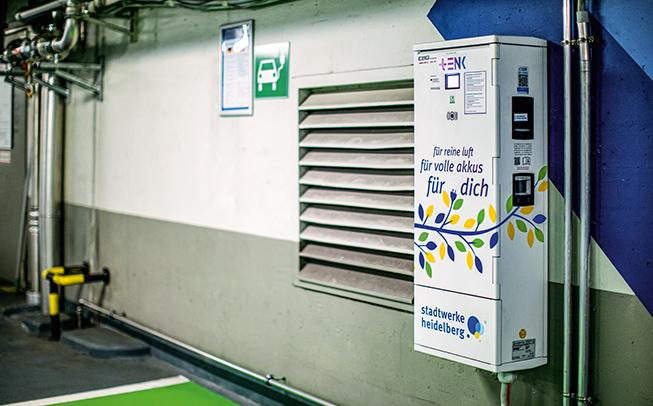 E-Ladestationen in fast allen Parkhäusern
