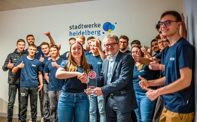 Auszeichnung Faire Ausbildung 2020 für die Stadtwerke Heidelberg