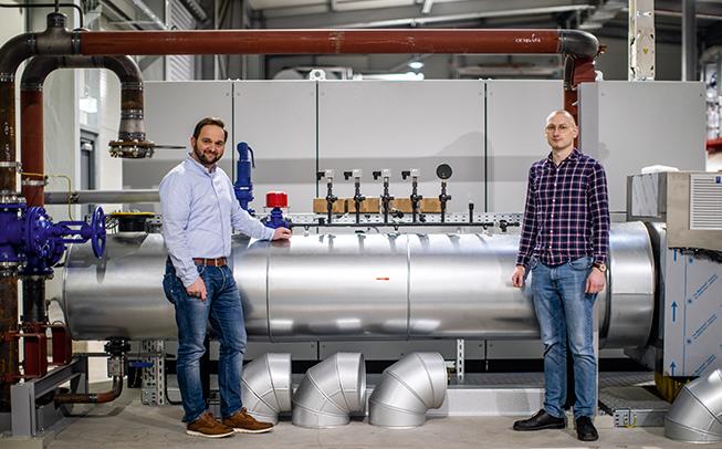 Power-to-Heat-Anlage mit zwei Megawatt im ENERGIEpark errichtet
