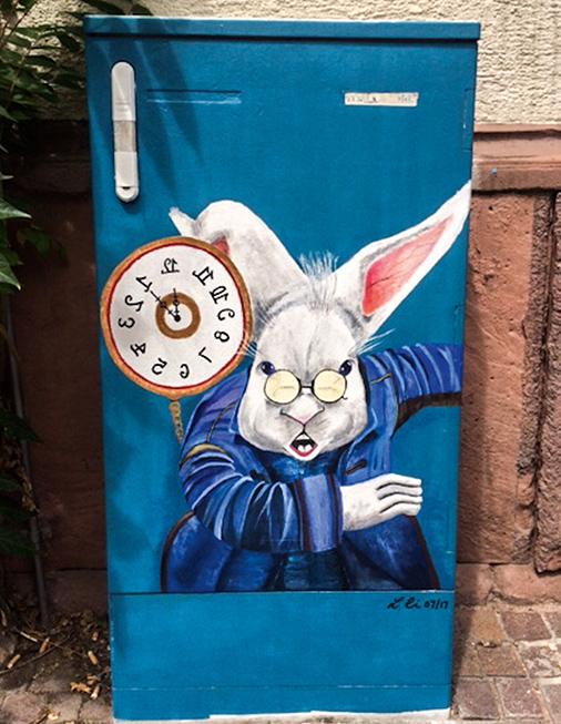 Die Kampagne #KaschteKunscht im Rahmen des Metropolink-Festival für urbane Kunst