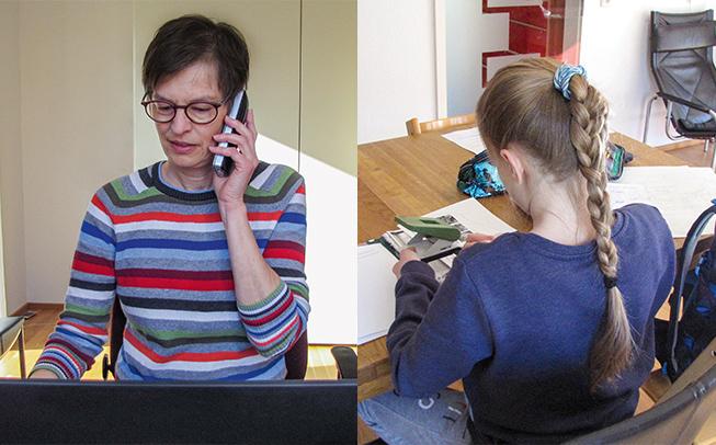 Mobiles Arbeiten erleichtert die Vereinbarung von Privatleben und Beruf