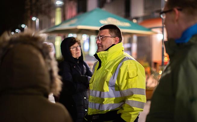 Vorstellung der intelligenten Beleuchtung in Heidelberg-Bahnstadt
