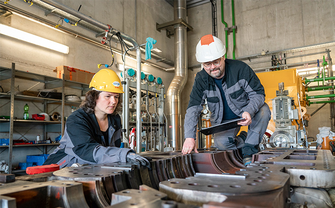 Jährliche Revisionen unterstützen effizienten und sicheren Anlagenbetrieb.